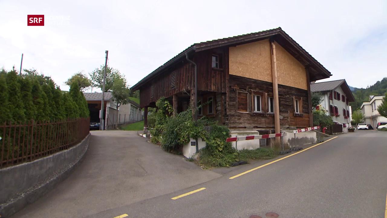 Streit um alte Holzhäuser