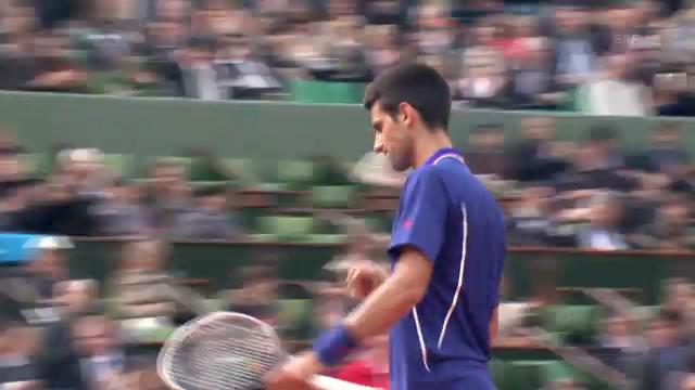Djokovics Matchball gegen Pella