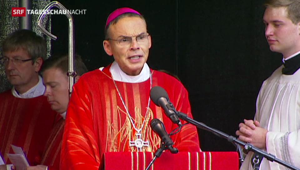 Der Deutsche Bischoft lebt in Saus und Braus
