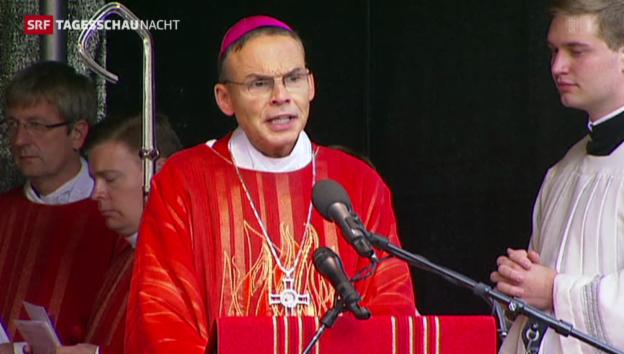 Video «Der Deutsche Bischoft lebt in Saus und Braus» abspielen
