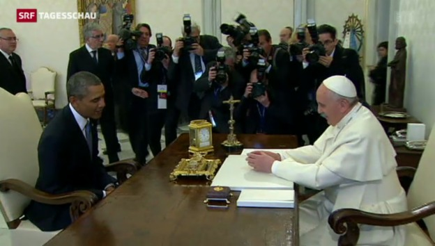 Video «Obama im Vatikan» abspielen