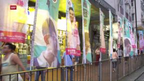 Video «Hongkong wählt» abspielen
