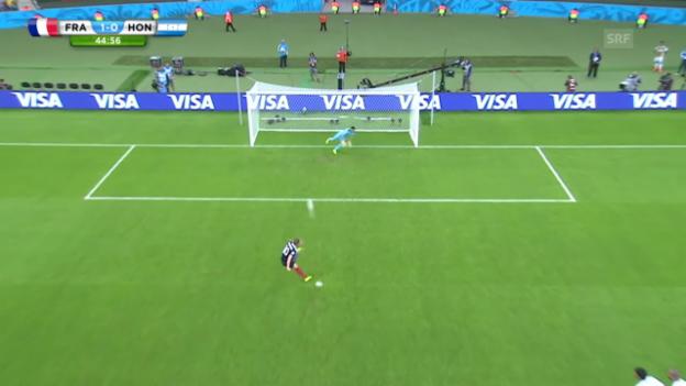 Video «1. Tor Benzema» abspielen