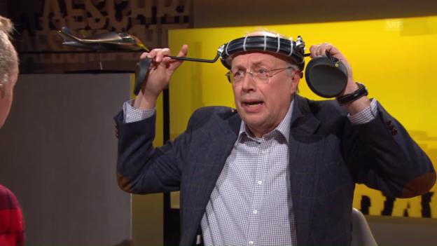 Video «Zu Gast bei Aeschbacher: Erfinder Andreas Reinhard» abspielen