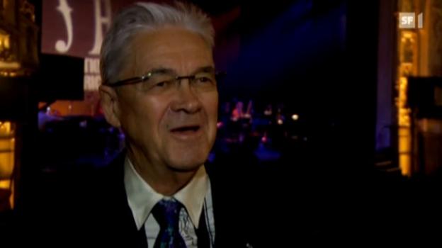 Video «Wichtige Auszeichnung: Claude Nobs geehrt» abspielen