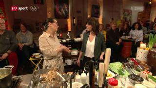 Video «Koreanisch Kochen mit Eve Angst: Ginseng-Huhn» abspielen