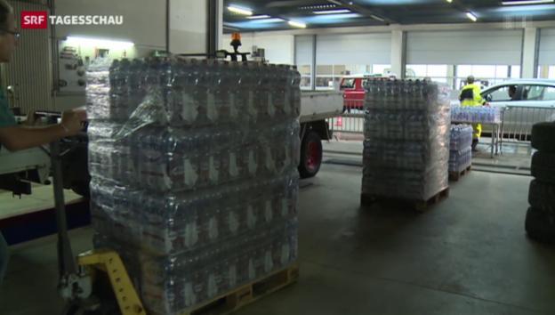 Video «Verschmutztes Trinkwasser in Le Locle» abspielen