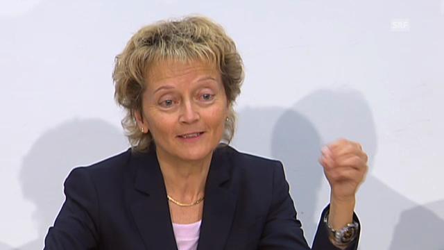 Widmer-Schlumpf: Deal für 12 Banken gilt ab morgen