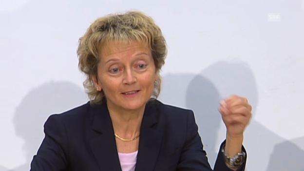 Video «Widmer-Schlumpf: Deal für 12 Banken gilt ab morgen» abspielen