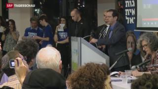 Video «Unerwartet eng bei Wahlen in Israel» abspielen