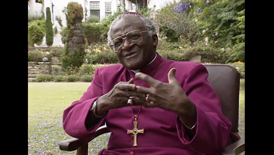 Desmond Tutu im 10vor10-Interview 1996