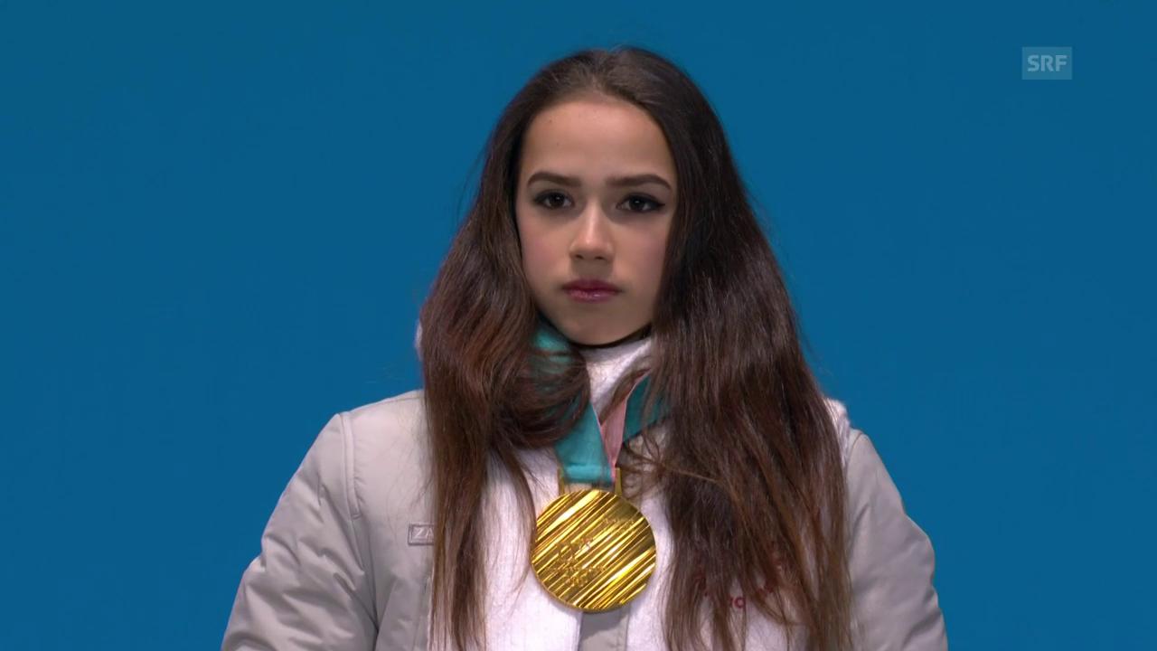 Olympia-Hymne für Alina Sagitowa