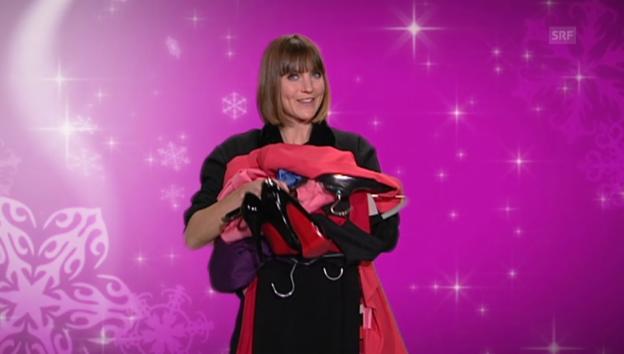 Video «17. Dezember: Shopping-Nachmittag mit Annina Frey» abspielen