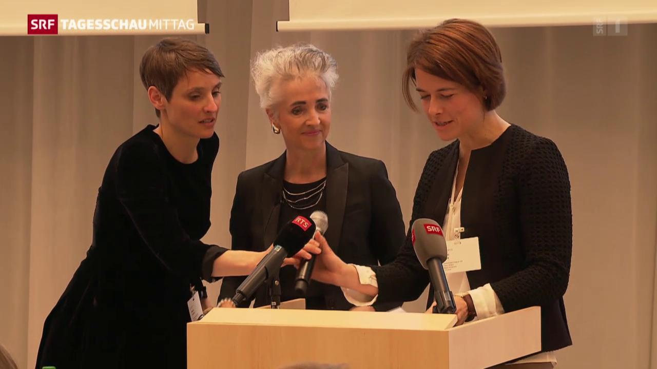 Gössis Heimspiel bei den FDP-Frauen