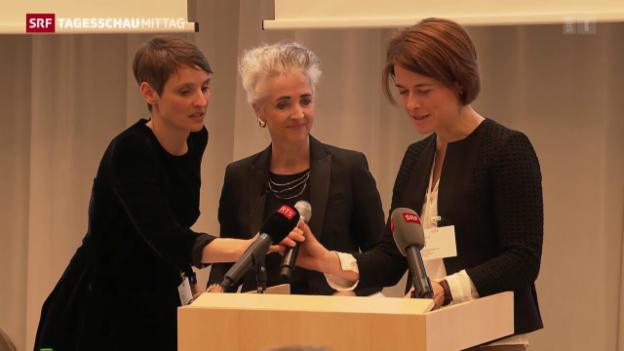 Video «Gössis Heimspiel bei den FDP-Frauen» abspielen