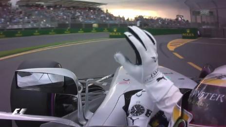 Link öffnet eine Lightbox. Video Hamilton vor Vettel – Sauber disponiert um abspielen