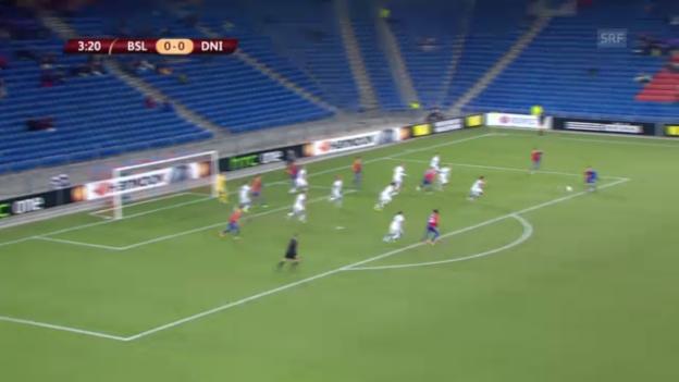 Video «EL: Highlights Basel - Dnjepr («sportlive»)» abspielen