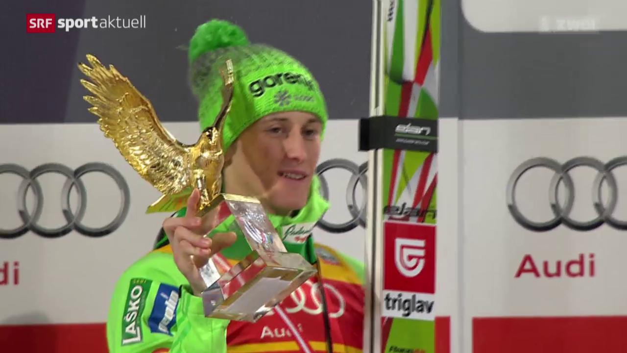 Peter Prevc gewinnt die Vierschanzen-Tournee