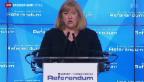 Video «Mary Pithcathly verkündet das Ergebnis» abspielen