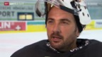 Video «Eishockey: Martin Gerber verlängert in Kloten» abspielen