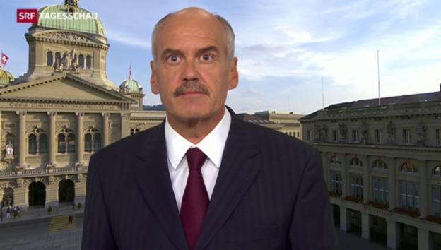 Video «Hanspeter Forster, SRF-Bundeshausredaktor, zum BÜPF» abspielen