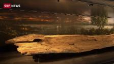 Link öffnet eine Lightbox. Video Das Erbe der Pfahlbauer kehrt nach Hause zurück abspielen
