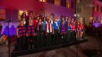 Video «Auftritt Chor Arlesheim mit «Er steht im Tor»» abspielen
