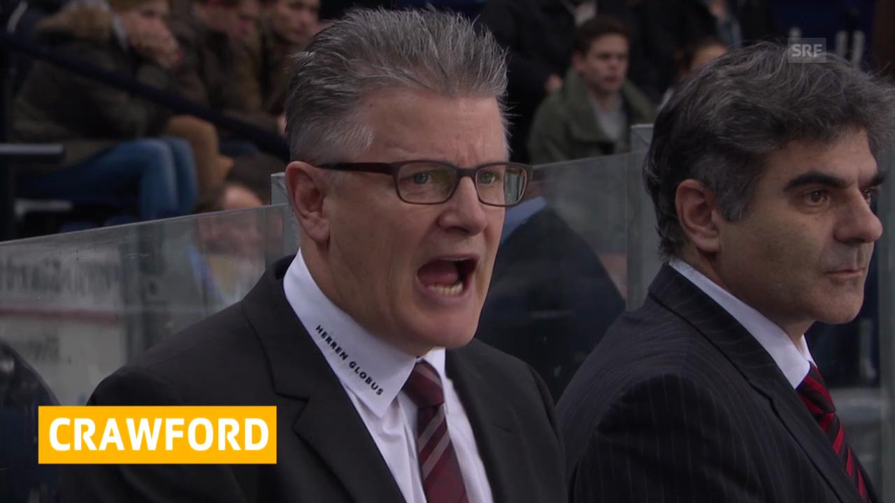 Eishockey: Der ZSC verlängert mit Crawford («sportnews», 5.3.14)