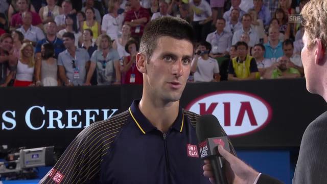 Australian Open: Platzinterview Djokovic («sportlive»)