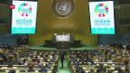Video «Erste UNO-Konferenz zum Schutz der Meere in New York eröffnet» abspielen