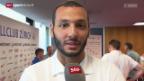 Video «Fussball: Chikhaoui neuer FCZ-Captain» abspielen