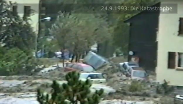 Video «Fernsehbilder vom 24. September 1993 aus Brig» abspielen