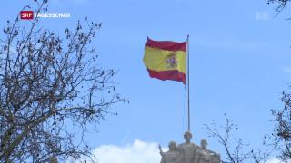 Video «Kritik an Menschenrechtssituation in Spanien» abspielen