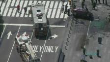 Video «Die Unfallszene am Times Square» abspielen