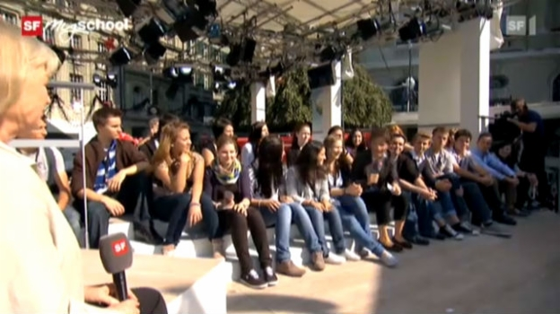 Video «Treffpunkt Bundesplatz: Live-Interview (8/11)» abspielen