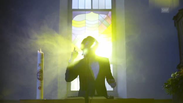 Video «Video-Challenge: Crimer spielt «Brotherlove» in der Kirche» abspielen
