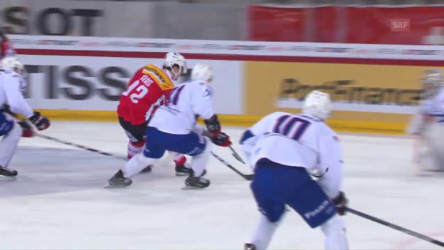 Video «Der entscheidende Treffer durch Haas» abspielen