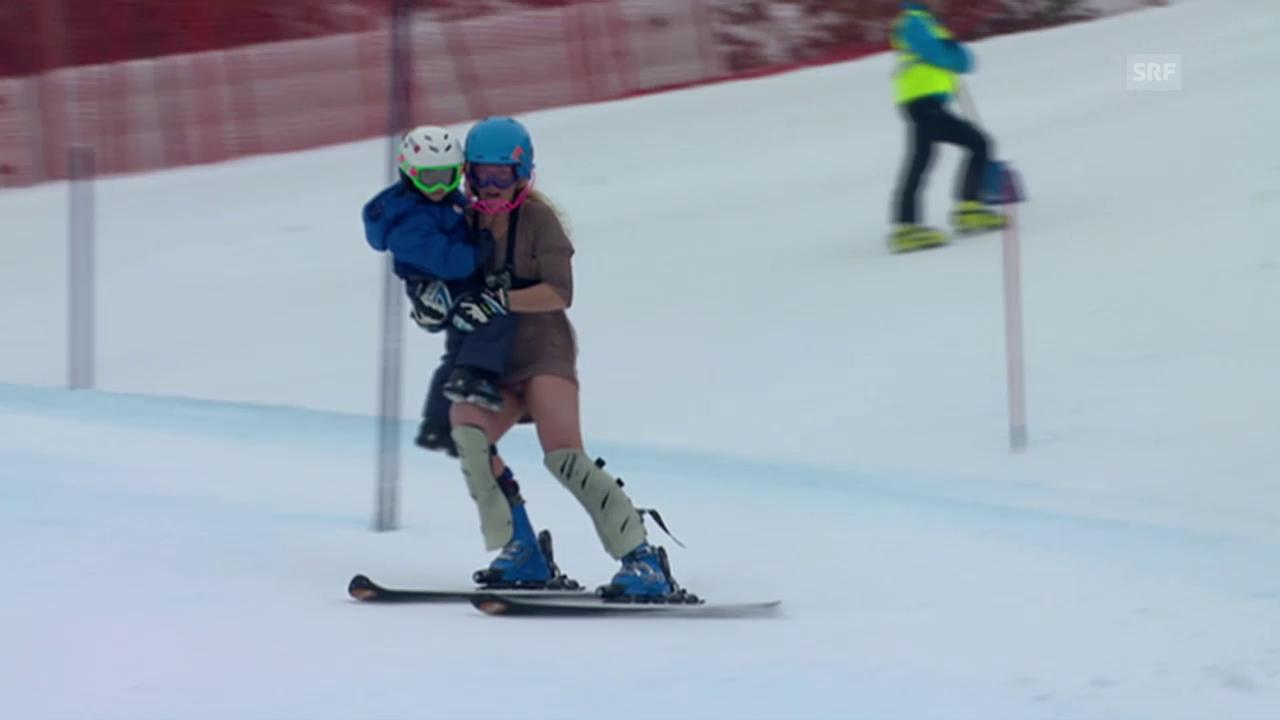 Ski alpin: Sarah Schlepers schrille Abschiedsfahrt in Lienz 2011