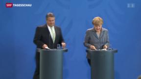 Video «Die deutsche Regierung reagiert» abspielen