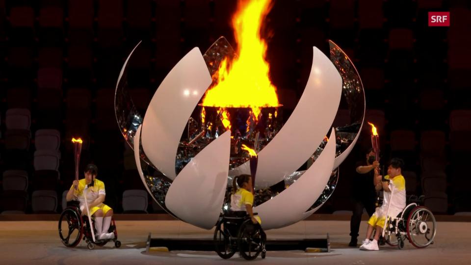La festa d'avertura dals paralimpics 2021