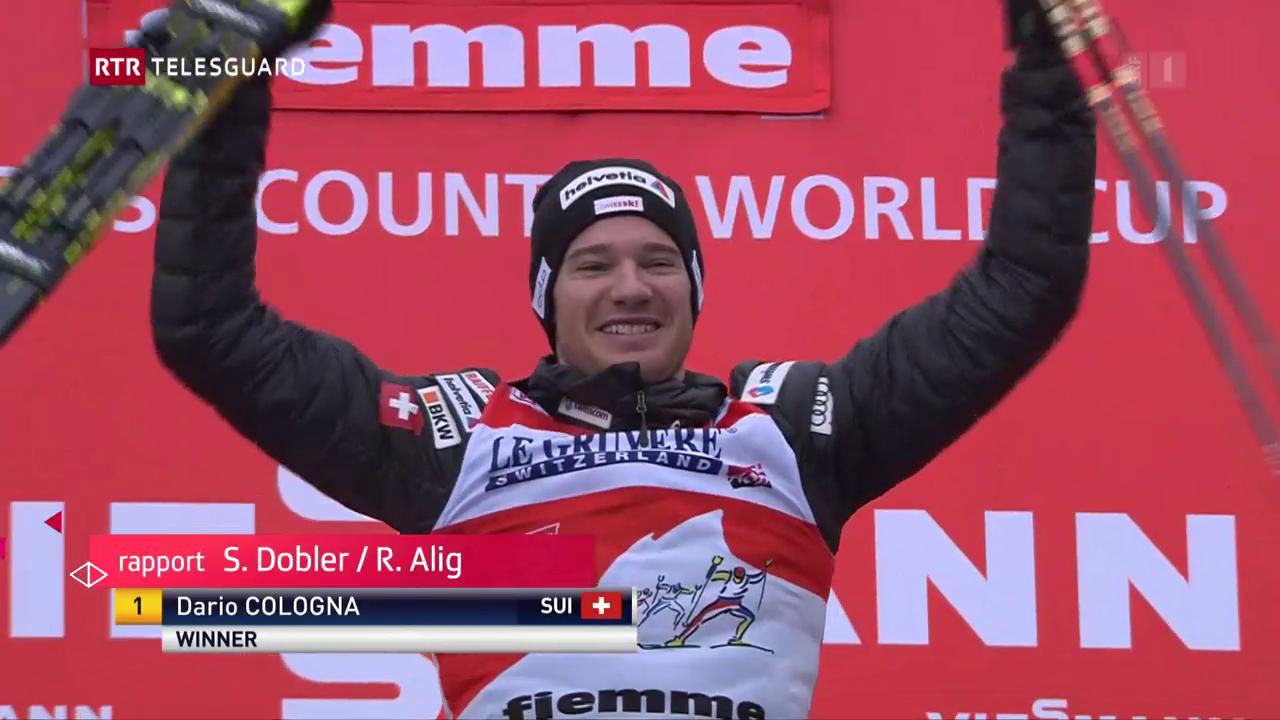 Dario Cologna ha gudagnà la Tour de ski