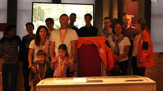Familie Leonardi präsentiert ihre Lösung für Aufgabe 2