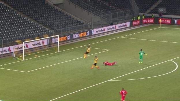 Video «Die Tore bei YB - Winterthur in der regulären Spielzeit» abspielen