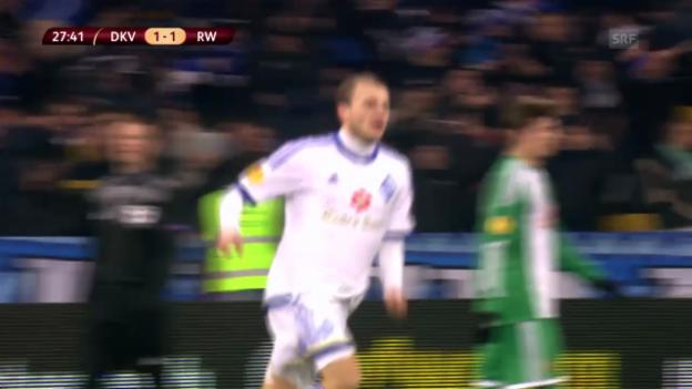Video «Spielbericht Kiew-Rapid («sportlive», 12.12.2013)» abspielen
