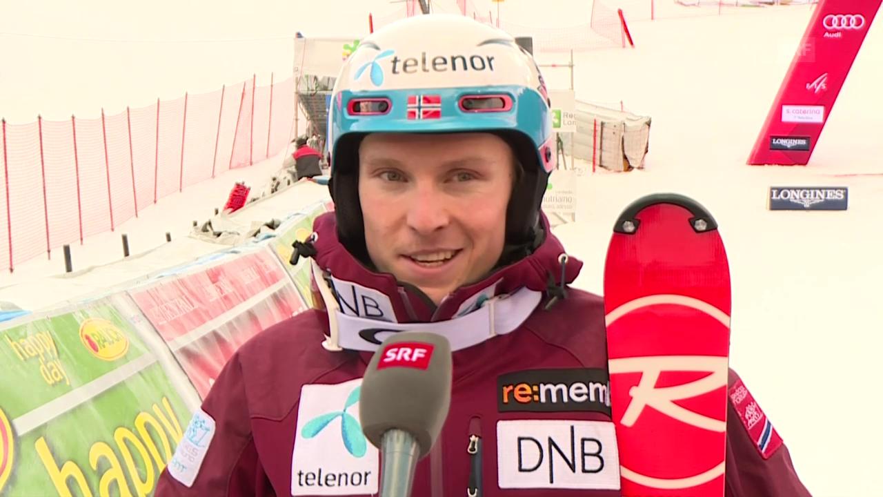 Henrik Kristoffersen spricht über die Rennen in Adelboden (englisch)