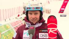 Video «Henrik Kristoffersen spricht über die Rennen in Adelboden (englisch)» abspielen