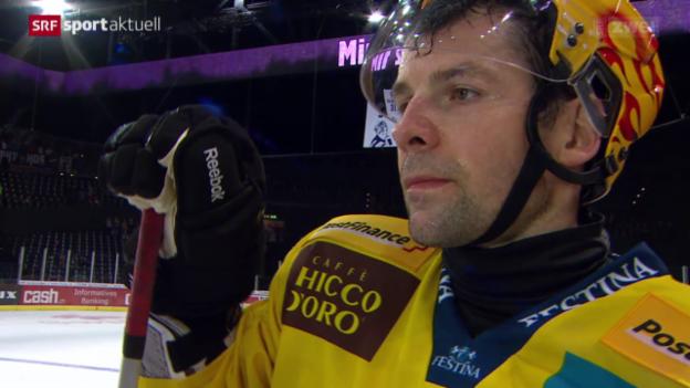 Video «Eishockey: Stimmen zu ZSC Lions - SC Bern» abspielen