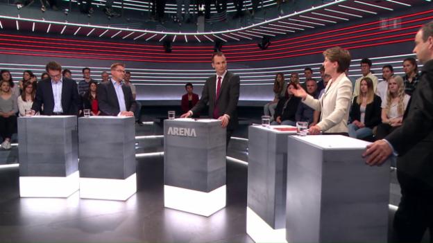 Video «Abstimmungs-«Arena»: Revision des Asylgesetzes» abspielen