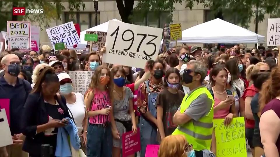 Proteste gegen Abtreibungsgesetz in den USA