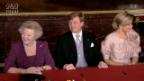 Video «Zusammenfassung: Abdankung Beatrix» abspielen